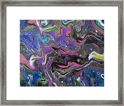 #122 Framed Print