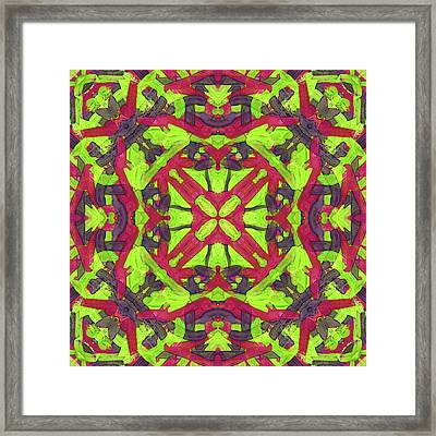 Untitled -a- Soup -pattern- Framed Print by Coded Images