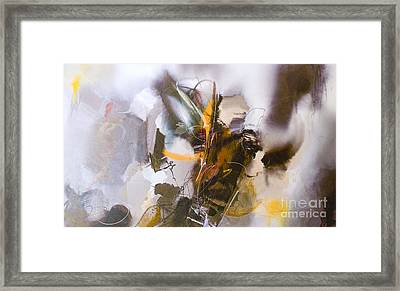 #122514a Or 'face In The Clouds' Framed Print