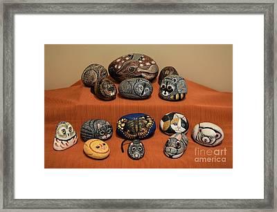 Rock Animals Framed Print