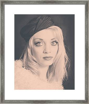 1251-3 Framed Print by Teresa Blanton