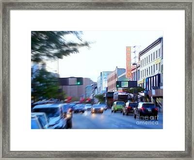 125th Street Harlem Nyc Framed Print by Ed Weidman