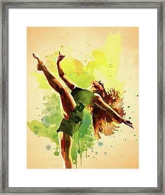 Dance. Framed Print