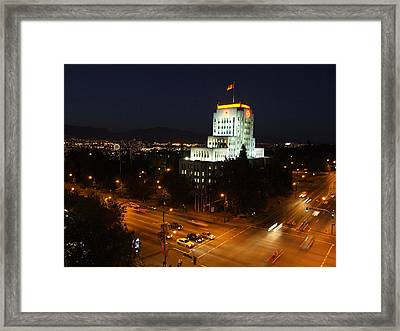12th And Cambie 1 Framed Print