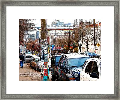 12th And Pike St. Capitol Hill Framed Print