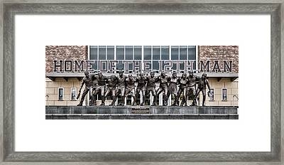12th Man Framed Print by Stephen Stookey