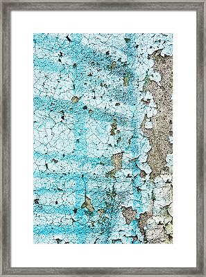 Blue Metal Framed Print by Tom Gowanlock