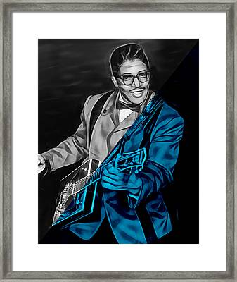 Bo Diddley Collection Framed Print