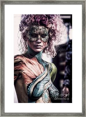 Bodypainting Framed Print by Traven Milovich