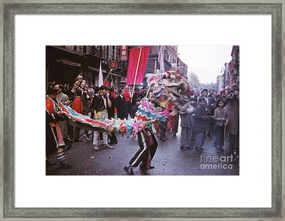 Chinese New Year 1963 Framed Print by The Harrington Collection