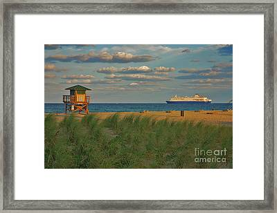 Framed Print featuring the photograph 13- Cruising In Paradise by Joseph Keane