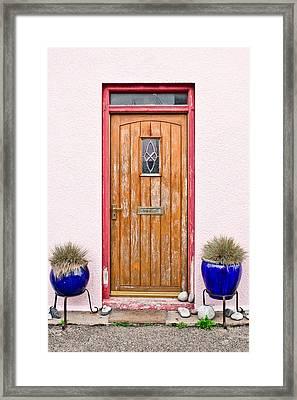 Front Door Framed Print by Tom Gowanlock