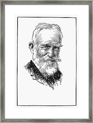 George Bernard Shaw Framed Print