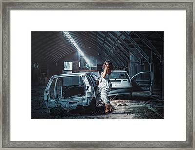 Framed Print featuring the photograph Giulia by Traven Milovich