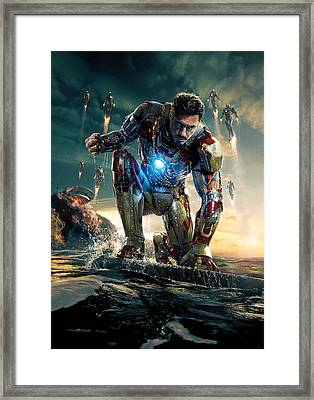 Iron Man 3 Framed Print