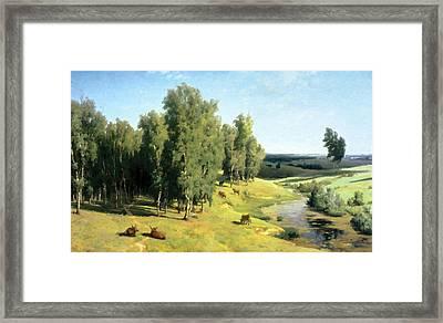 Landscape Painting Framed Print