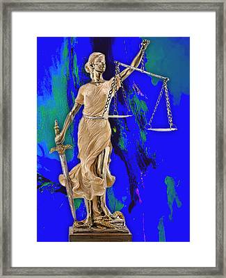 Law Office Collection Framed Print