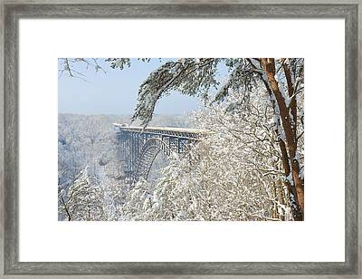 New River Gorge Bridge Framed Print