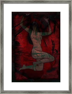 Nude Woman Framed Print by Svelby Art