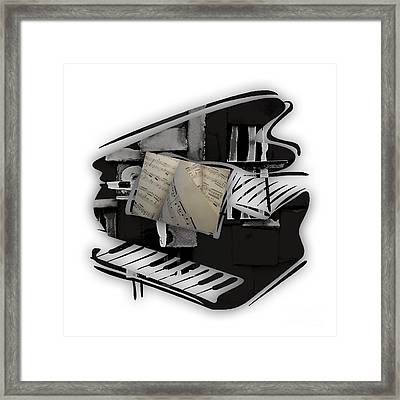 Piano Collection Framed Print by Marvin Blaine