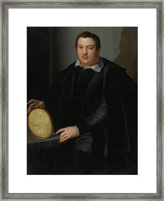 Portrait Of A Gentleman Framed Print