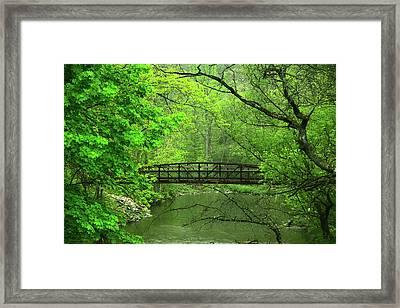 Jacobsburg State Park Pa Framed Print