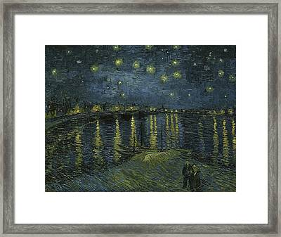 Starry Night Framed Print by Starry Night