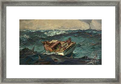 The Gulf Stream Framed Print