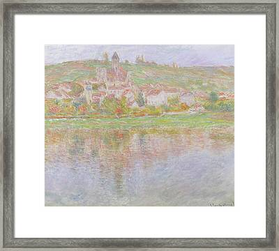 Vetheuil Framed Print by Claude Monet
