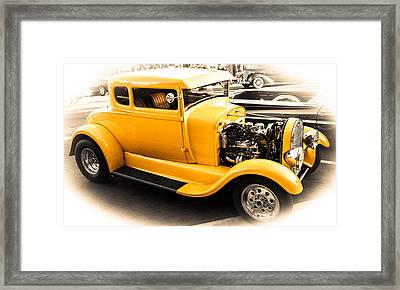 Vintage Car Framed Print