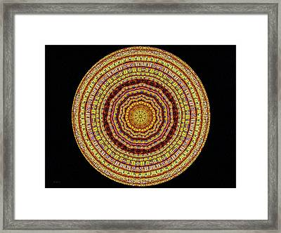 13 Woven Baskets Framed Print by Bob Orsillo