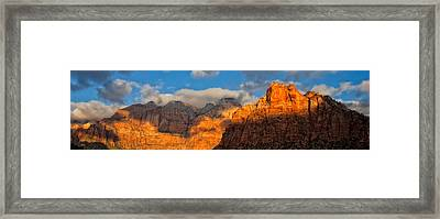 Zion National Park Utah Framed Print