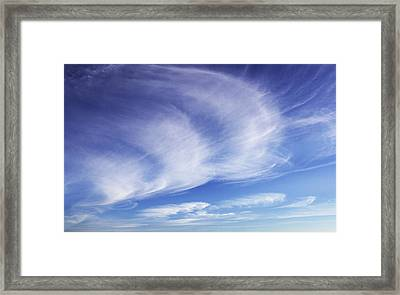 134 - Atmospheric - Cloud Cluster Framed Print by Eric  Copeman