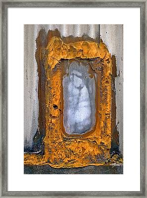 Industrial Foam Framed Print