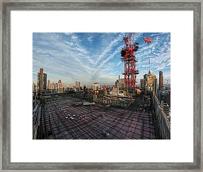 1355 1st Ave 4 Framed Print