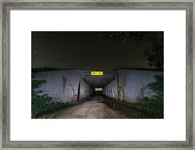 13ft 1in Framed Print by Nathan Hillis