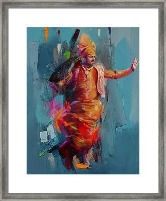 13pakistan Folk Punjab B Framed Print