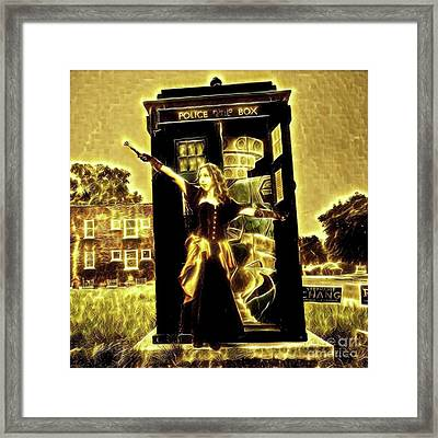 13th Doctor Framed Print