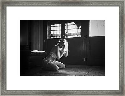 Framed Print featuring the photograph .. by Traven Milovich