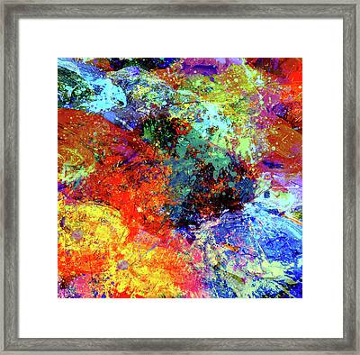 Abstract Composition Framed Print by Samiran Sarkar