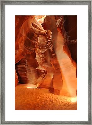 Antelope Canyon Framed Print by Jacek Joniec