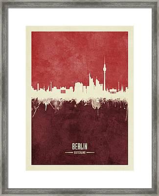 Berlin Germany Skyline Framed Print