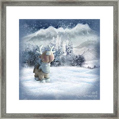 Christmas Card Framed Print