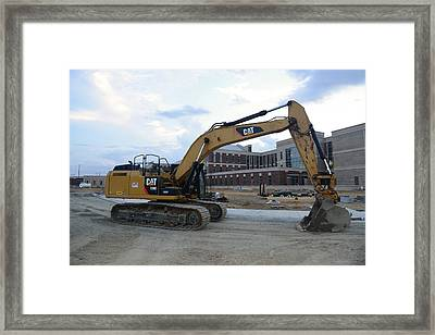 14 - Construction Equipment Series Framed Print by Matt Plyler