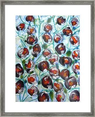 Divineflowers Framed Print by Baljit Chadha