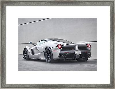 Framed Print featuring the photograph #ferrari #laferrari by ItzKirb Photography