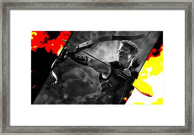 Hawkeye Collection Framed Print by Marvin Blaine