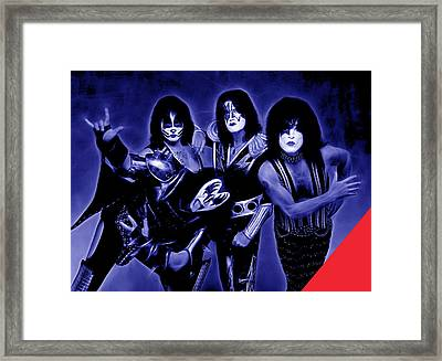 Kiss Collection Framed Print by Marvin Blaine