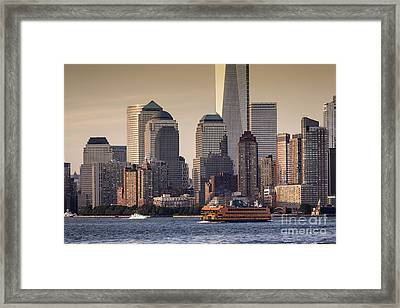 New York  Framed Print by Juergen Held