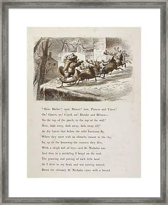 Night Before Christmas Framed Print